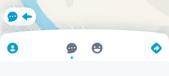 友達の位置情報画面