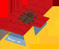 ゴキブリホイホイのイラスト