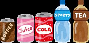 缶とペットボトルのイラスト