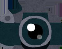一眼レフデジカメのイラスト