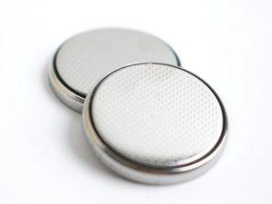ボタン電池の写真