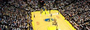 NBAのスタジアムの写真