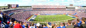 NFLのスタジアムの写真