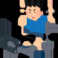 トレーニングのイラスト