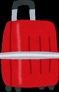 スーツケースのイラスト