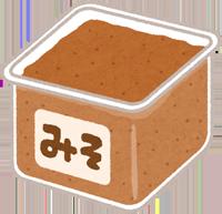 味噌のイラスト