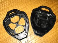 リモコンキーのプラスチックケースの写真