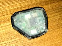 リモコンキーのリモコン発信機の写真