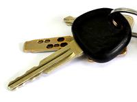 車の鍵の写真