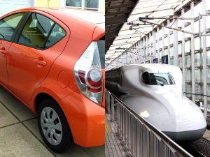 旅行に行く時は電車と車どっちが良い?メリット・デメリットをまとめてみた