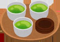お茶のイラスト