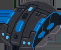 無線多機能マウスのイラスト