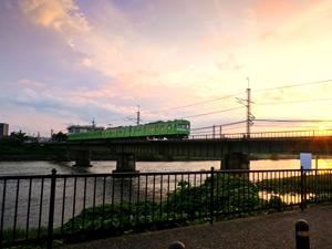 JR奈良線の写真