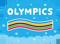 冬季オリンピックのイラスト