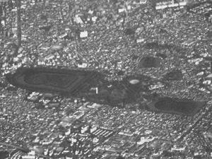 百舌鳥古墳群の航空写真