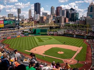 メジャーリーグの球場の写真