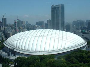 東京ドームの外観写真