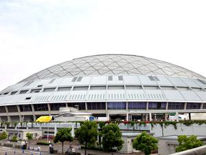 ナゴヤドームの外観写真