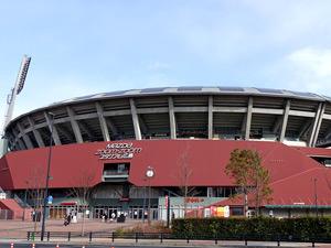 広島市民球場の外観写真