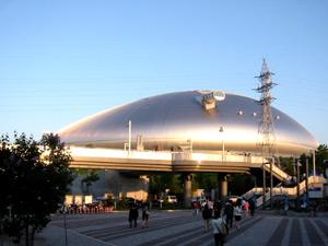 札幌ドームの外観写真