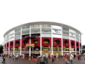 宮城球場の外観写真