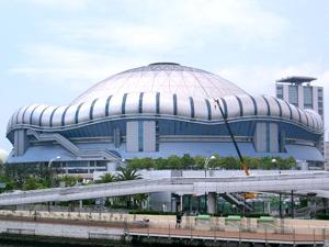 大阪ドームの外観写真