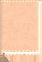 ヌメ革のブックカバーのイラスト