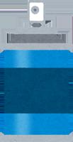 防水スプレーのイラスト