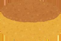 山羊革のスエードを洗うためのスポンジのイラスト