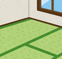 畳の部屋のイラスト