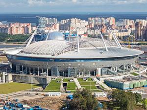 サンクトペテルブルク・スタジアムの写真