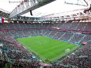 収容人数ランキング2位のサンクトペテルブルク・スタジアムの写真