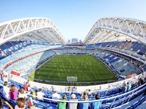 オープン日ランキング3位のフィシュト・スタジアムのスタンドの写真(FIFAコンフェデ杯2017)