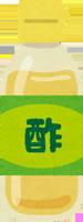 米酢のイラスト