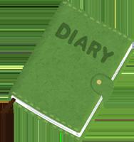 日記のイラスト