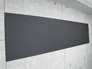 壁に貼る黒板のシールの写真