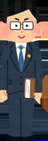 弁護士のイラスト