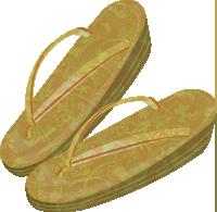 草履のイラスト
