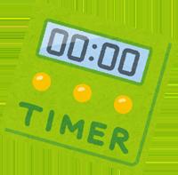 時間制限のイラスト