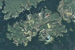 賢島の航空写真