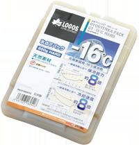 プラスチック製の保冷剤の写真