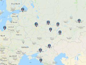 ロシアワールドカップのスタジアム一覧と地図・日本時間の全試合日程と放送スケジュールも!