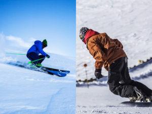 スキーかスノボ?初心者はどっちから始めるべき?